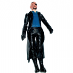 bootleg Marvel Nick Fury action figure funny chinese bootleg